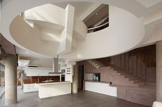 Peruvian architecture contemporary beach house living room design