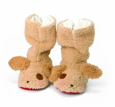 Amazon.com: Bunnies by the Bay Skipit's Snugs Booties, Light Brown, 6-12 Months: Baby