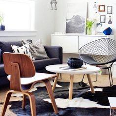 Las cosas buenas pasan a quienes las esperan, las mejores a quienes van por ellas!!! #FelizJueves #EamesLCW #DiamondChair #Deco #Decoration #Design #InteriorDesign #InstaLove #DesignPorn #Diseño #Decoración #CDMX #Nativa