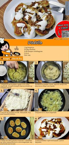 Easy Chicken Recipes, Meat Recipes, Cooking Recipes, Healthy Recipes, Hungarian Cuisine, Hungarian Recipes, Good Food, Yummy Food, Food Inspiration