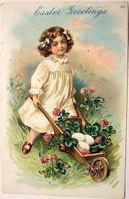 girl and wheelbarrow