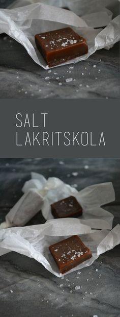 Reept Salt Lakritskola – på Pärlans vis - CornerHouseKitchen