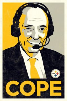 Myron Cope - Late Pittsburgh Steelers Commentator , Inventor of the Terrible Towel