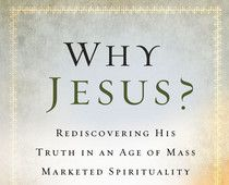 "This is Dr. Ravi Zacharias' latest book: ""Why Jesus? Rediscovering His Truth in an Age of Mass Marketed Spirituality"". It's a well-written and informative book where Dr. Zacharias talks about some of the greatest spiritual influences today, like Oprah Winfrey and Deepak Chopra.    Read this personal interview and review of his book."