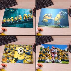 despicable me 2 minions paradise Best Game Custom Mousepads Rubber Pad♦️ SMS - F A S H I O N 💢👉🏿 http://www.sms.hr/products/despicable-me-2-minions-paradise-best-game-custom-mousepads-rubber-pad/ US $1.89