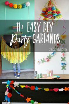 11 Party Garlands to DIY