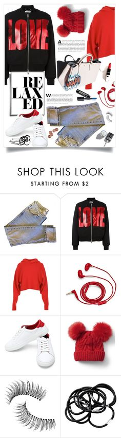 """""""relaxed."""" by linds-rae ❤ liked on Polyvore featuring Vision, Givenchy, TIBI, FOSSIL, Avon, Garance Doré, Gap, Trish McEvoy, H&M and BOBBY"""