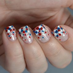 Pink & Polished: Patriotic Dotticure