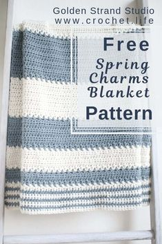 Simple and Easy Striped Baby Blanket Crochet Pattern – Crochet . Life Simple and Easy Striped Baby Blanket Crochet Pattern – Crochet . Crochet Afghans, Crochet Baby Blanket Free Pattern, Crochet For Beginners Blanket, Afghan Crochet Patterns, Baby Patterns, Crochet Blankets, Baby Afghans, Knitting Patterns, Crochet Simple