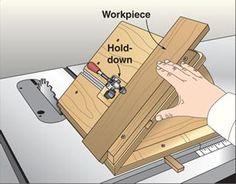 Wood Magazine... Good option for Shopsmith, No-Tilt Bevel Sled Woodworking Plan, Workshop & Jigs Jigs & Fixtures Workshop & Jigs $2 Shop Plans
