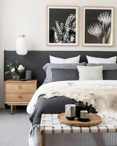 Best Scandinavian Bedroom Interior Design Ideas - Home Design Dream Bedroom, Home Decor Bedroom, Bedroom Ideas, Bedroom Inspo, Bedroom Designs, Bedroom Wardrobe, Bedroom Curtains, Bedroom Green, Diy Bedroom