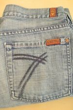Vintage 7 Seven For All Mankind Dojo blue jeans flare size 28 authentic vtg