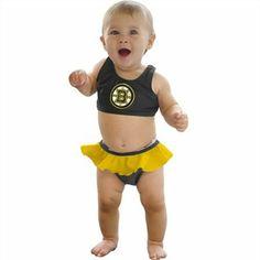 Calhoun Boston Bruins Baby Bikini