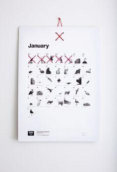Almost Extinct Calendar