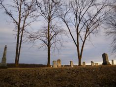 Early Spring Eventide at Bethel Lutheran Cemetery | FrankenGen