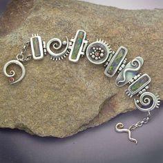 Faux opal bracelet~<3