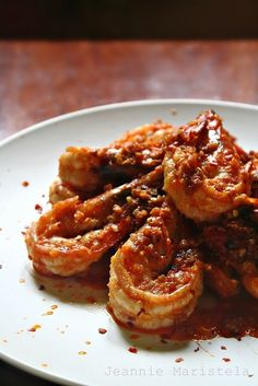 Chilli, Garlic and Butter Prawns--- Prawns