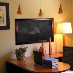 American Made Rayne Shiny Bronze Blackboard/Chalkboard (16 x 100), Brown