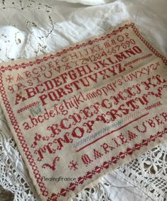 FleaingFrance..... French Sampler 1800's
