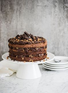 Naked cake | K-ruoka #suklaa #kakku