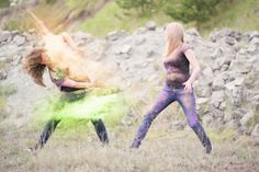 Holi_Farben_Shooting Bunt, Holi Colors, Family Photos, Creative