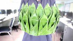 วิธีทำกระทงแบบง่ายๆ โรงเรียนเตรียมอุดมศึกษาพัฒนาการ สระบุรี Arti Thali Decoration, Asian Crafts, Leaf Crafts, Thai Art, Kolam Designs, Flower Decorations, Creative Design, Flower Arrangements, Natural