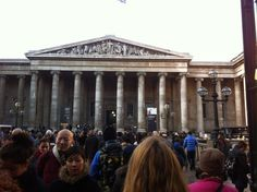 A quiet day at the British Museum
