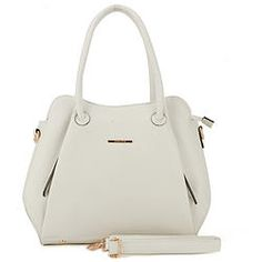 White Glam Double Inside Zipper Detail Handbag Rebecca Minkoff, Zipper, Womens Fashion, Bags, Detail, Handbags, Zippers, Women's Fashion, Woman Fashion