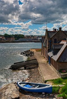 The old lifeboat cottage in  Berwick Upon Tweed.