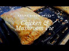 Creamy Chicken Pie, Chicken And Mushroom Pie, Yummy Treats, Yummy Food, Healthy Food, Tasty, Real Food Recipes, Chicken Recipes, Pie Recipes