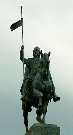 Sv. Václav (St. Wenceslaus) - J. V. Myslbek Václav Myslbek 1848-1922 nejvýznamnější český sochař přelomu 19.a 20.století představitel monumentálního realismu a zakladatel novodobého českého sochařství.