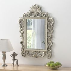 View Juliette Rococo Cream Gold Mirror product from Soraya Interiors UK, See more products like this and more wall mirror categories Gold Mirrors, Framed Mirrors, Ornate Mirror, Decorative Mirrors, Living Room Mirrors, Bedroom Mirrors, Metal Flower Wall Art, Wall Decor Amazon, Home