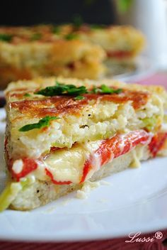 Lussi`s World of Artcraft: Солена торта с ориз и тиквички / Baked rice cake with veggies and cheese Bulgarian Recipes, Bulgarian Food, Kids Meals, Easy Meals, Baked Rice, Rice Cakes, Quiche, Food To Make, Recipies