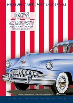 THE GREAT AGE OF AMERICAN AUTOMOBILES | Client MoA - MUSEUM OF ART | Fort Lauderdale, FL