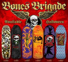 Bones Brigade Series 5 : Available Holloween 2014