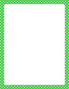 Resultados de la búsqueda de imágenes: Polka Dot Border Template - Yahoo Search