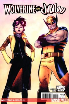 Check out this Wolverine & Jubilee #1 cover by Olivier Coipel!