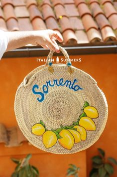 Ever experienced a summer in Italy? Well, we've a way that you can bring the sunshine and happiness of an Italian summer home with you. Positano, Amalfi, Italian Village, Italian Summer, Mamma Mia, Sorrento, Italian Fashion, Straw Bag, Coin Purse