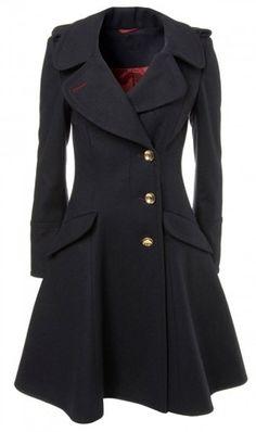 #Black Coat classy and girls #blackjacket  http://pinterest.com/anna7891
