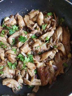 Μανιτάρια τηγανιά Pierogi, Sweet Home, Food And Drink, Vegan, Chicken, House Beautiful, Vegans, Kai