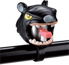 Grrrr! Crazy Stuff Bicycle Bell: Black Panther