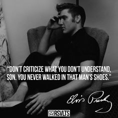 """This post consists of 10 inspirational quotes by American singer-songwriter and actor, Elvis Aaron Presley often referred to as the """"King of Rock and Roll"""". Elvis Presley Quotes, Elvis Quotes, Elvis Presley Family, Graceland Elvis, Gene Kelly, Vivien Leigh, Marlon Brando, James Dean, Muhammad Ali Quotes"""