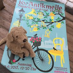 Very very recommendable! The flea market that is happening once a year in the Suarezstr. in Berlin called ANTIKMEILE. . . #antikmeile #berlinstyle #somethingtolookat #schnüffelnase #dogsofberlin #happeningtoday #yeah #kuscheltierliebe #fluffylove #plushiesofinstagram #lovelaughlobilat