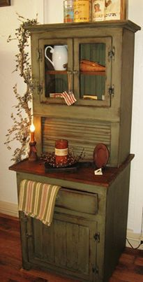 Wow -- could re-do our antique hoosier cabinet with a totally different color scheme!