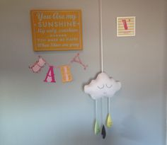 Cloud nursery. You are my sunshine