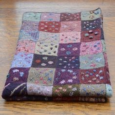 Baby Blanket - Sophie Digard crochet and embroidery