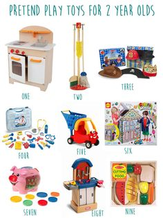 2 year old toy guide pretend
