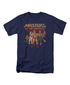 Loving this Navy 'Masters of the Universe' Tee - Adult on #zulily! #zulilyfinds