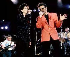 Freddie Mercury tribute 1992 - with Lisa Stansfield