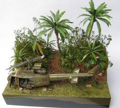 """""""114th Assault Helicopter Company. Huey. Vietnam war"""" DRAGON 1/35 scale UH-1 Huey. By Kuba Bartosik.  #scale_model #helicopter"""